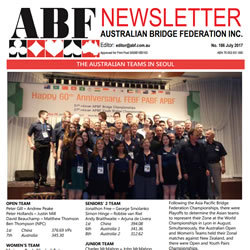 Cover of ABF July 2017 Newsletter