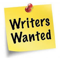 Writers wanted image