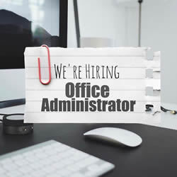 Image of office administrator wanted