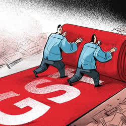 Image of GST rollout